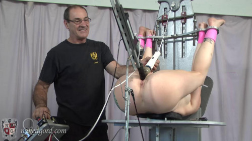 BDSM House of Gord - Cracked Up on the Cross Mollie