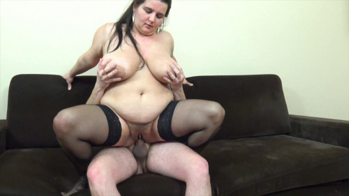 Fisting and Dildo Huge tits Deborah huge cunt fisted