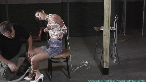BDSM Crossed Elbows Hogtie For Summer - Part 2