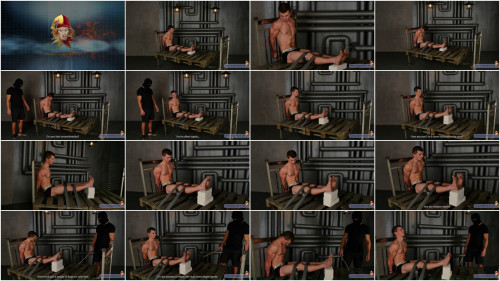 Gay BDSM RusCapturedB - Interrogation of Robber Slava. Part 2