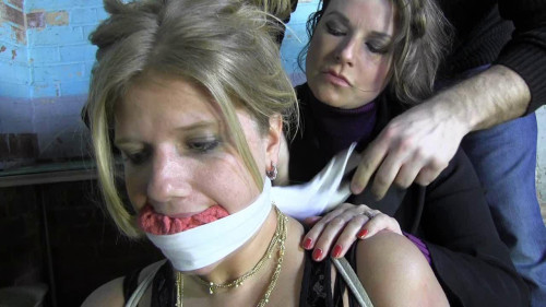 BDSM The Gag In Her Fantasy Was More Like The Fake Ones In The Movies - HD 720p