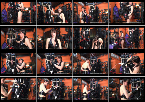 Femdom and Strapon Flexible Finale