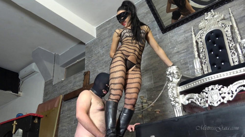 Femdom and Strapon Little sparrow cock