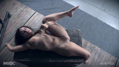 BDSM Bondage Slave Gabriella Paltrova Enjoys Pain