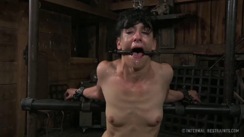 BDSM Tight bondage, strappado and torture for horny slavegirl part 2 Full HD 1080p