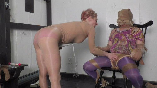 Femdom and Strapon Clinic Stockings - Domination HD