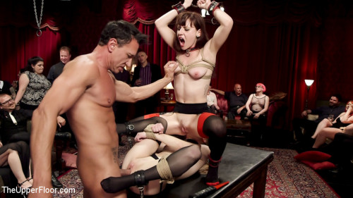 bdsm Slave Girls Debased and Anally Ravaged at Private BDSM Party