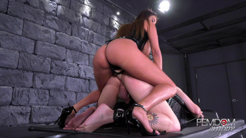 Femdom and Strapon Fucked By The French