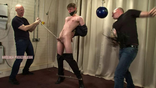 Gay BDSM Anal hook for Craig