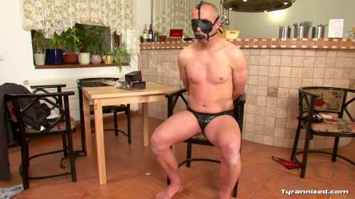 Femdom and Strapon Waiter Endures Ass and Still No Tip! - Full HD 1080p