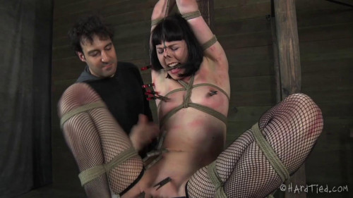 BDSM HardTied Fun With Rope Coral Aorta