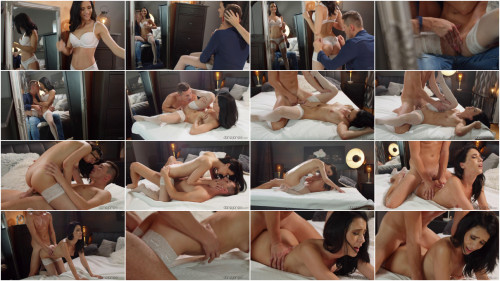 HD Clips Nikki Fox - Sweet love making in white lingerie (2021)