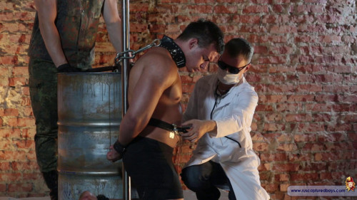 Gay BDSM RusCapturedBoys - Pain Experiment with Athlete - Final Part