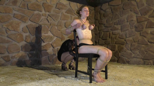 BDSM Ultra hard Rope Predicament for Muriel - HD 720p