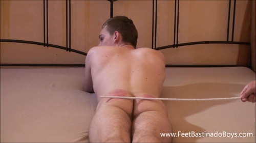 Gay BDSM Patrik Fr Bastinado (part 1)