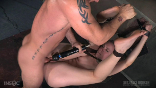 BDSM Sierra Cirque Fucked and Vibrated While Having Violent Orgasms!