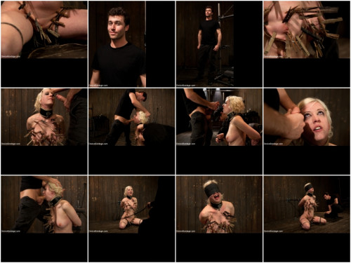 BDSM Cherry Torn Throat Fucked, Blindfolded, Beaten, and Abused!