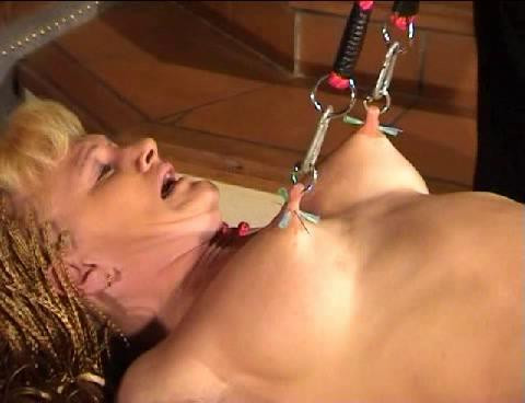 bdsm Extreme - Piercing Pussy, Torture With Suspending