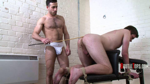 Gay BDSM BT 203 - Lick My Arsehole Before I Cane You