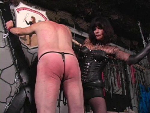 Femdom and Strapon Latex Rubber - Salvani Filthy - Domination HD