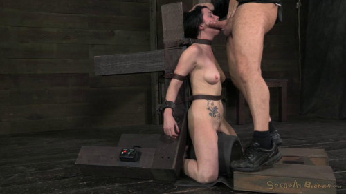 BDSM Pretty Veruca James utterly destroyed