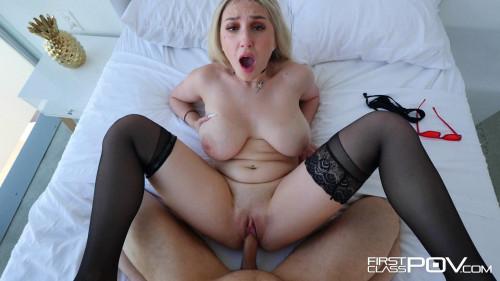 Busty Blonde Skylar Vox Takes A Huge Cock In POV