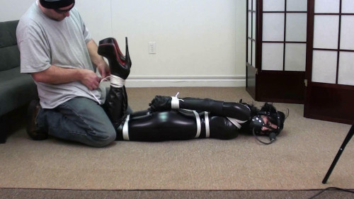 bdsm Hannah Catsuit Pump Gag Over Knee Boots Part Two