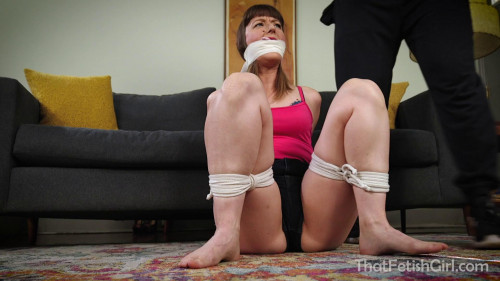 BDSM Coach Tricks Flirty MILF Into Bondage