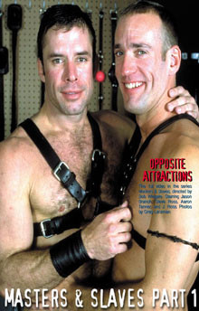 Gay BDSM Masters and Slaves 1: Opposite Attractions and Ties That Bind  ( Bound and Gagged )