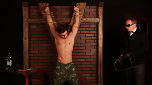 Gay BDSM Mister X. The First Torture Video