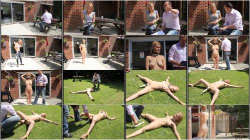 BDSM Hard bondage, domination and torture for hot blonde part 1 HD 1080p