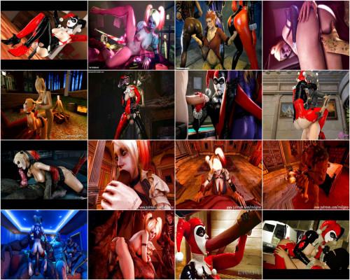 3D Porno Cartoon Sex Collection Of Harley Quinn