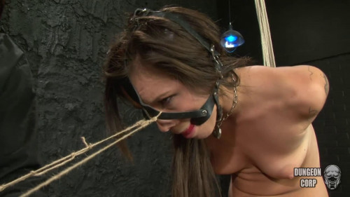 BDSM Bondage, strappado, spanking and torture for sexy girl