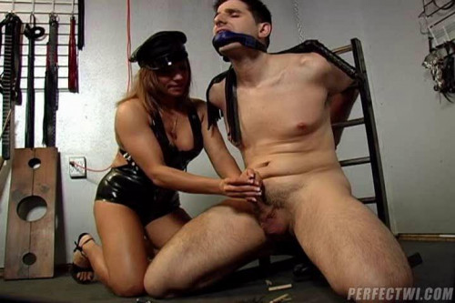 Femdom and Strapon Bad Boyz Bound and Fucked Part 2