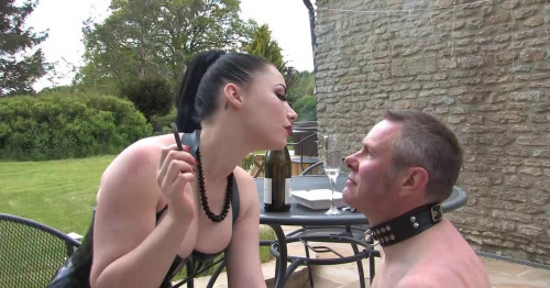 Femdom and Strapon In Service To Lady Sophia