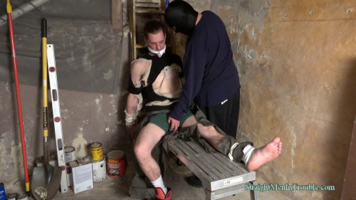 Gay BDSM Basement Abuse - Part 1