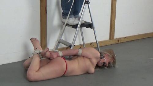 BDSM Hogtied And Hoisted!