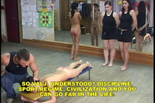 BDSM Discipline In Russia - part 5 - Sport School