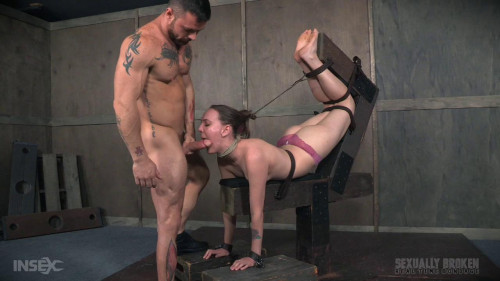 bdsm Sierra Cirque Face Fucked In Extreme Bondage