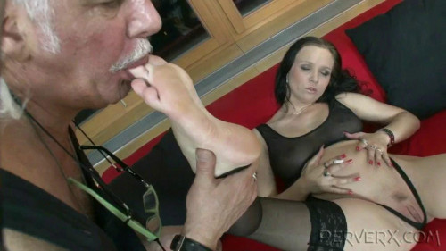 Femdom and Strapon Fisting, fuck and hardcore