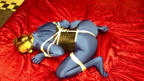 BDSM ShinyB - Simone.. Subdued in Blue