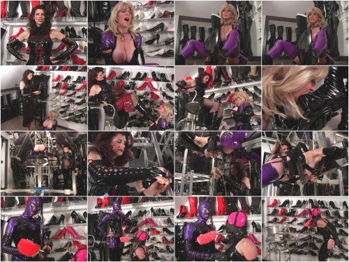bdsm GwenMedia - Rubber Boot Slut