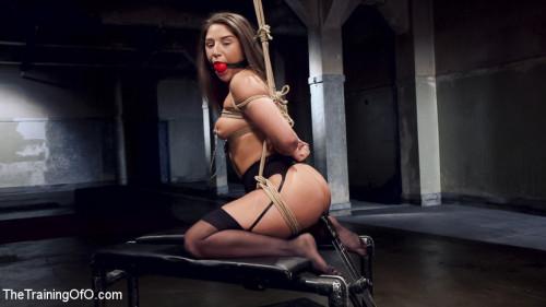 bdsm Hardcore Anal in Strict Bondage, 19 Year Old Abella Danger, Day One