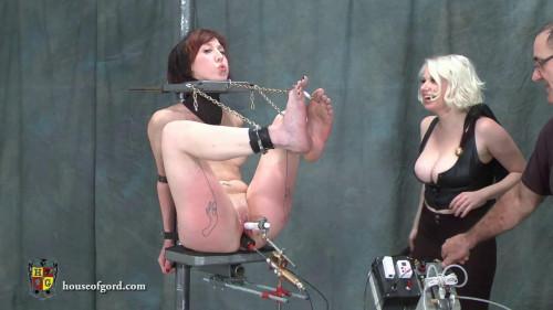 BDSM Trinity and Scarlet at Play