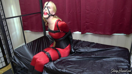 BDSM Ariel Anderssen.. Spandex and Leather 1080p