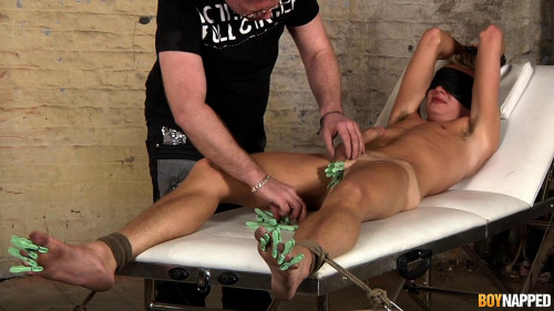 Gay BDSM Jack Gets Waxed and Drained - Jack Blaze and Sebastian Kain - Full HD 1080p