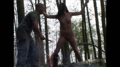 bdsm Beautiful Young Woman Kidnapped, Tortured in the Woods