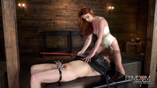 Femdom and Strapon Lacy Hates Balls