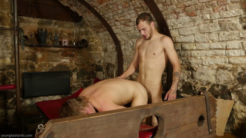 Gay BDSM Dungeon Slave Craves Cum Alan Davis, Rick Palmer