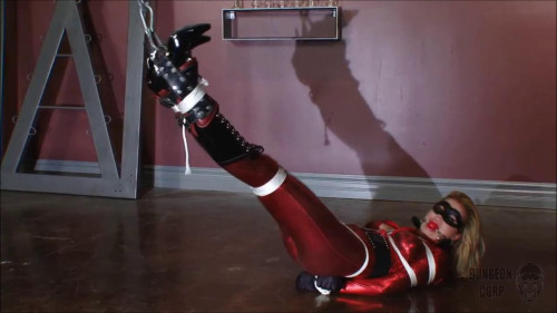 BDSM Latex Bound, Winched